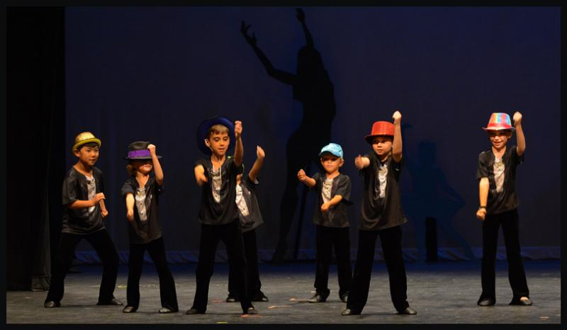 Learning to dance improves a boy's ability to focus and concentrate.